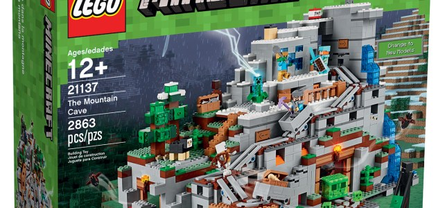 LEGO Minecraft 21137 The Mountain Cave : l'annonce officielle