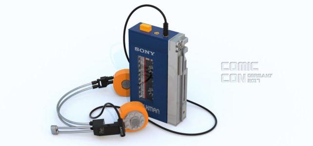 Marvel's Guardians of the Galaxy & SONY Walkman : Awesome Mix Vol. 2