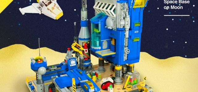 LEGO Space Classic 1979 base sur la Lune