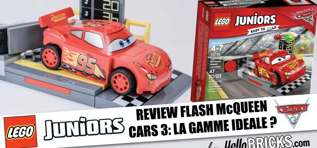 REVIEW Lego Cars 3 - Juniors - Flash McQueen