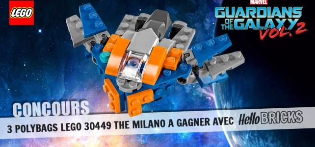 Concours LEGO 30449 Milano polybag