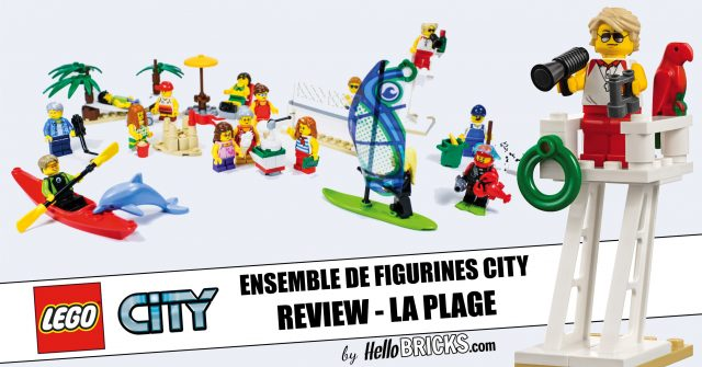Review Lego 60153 - Ensemble de figurines Lego City la plage