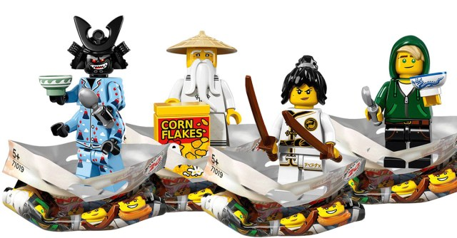 The LEGO Ninjago Movie LEGO 71019 Minifigs à collectionner