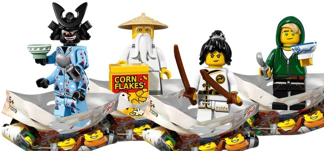 The LEGO Ninjago Movie 71019 Minifigs à collectionner