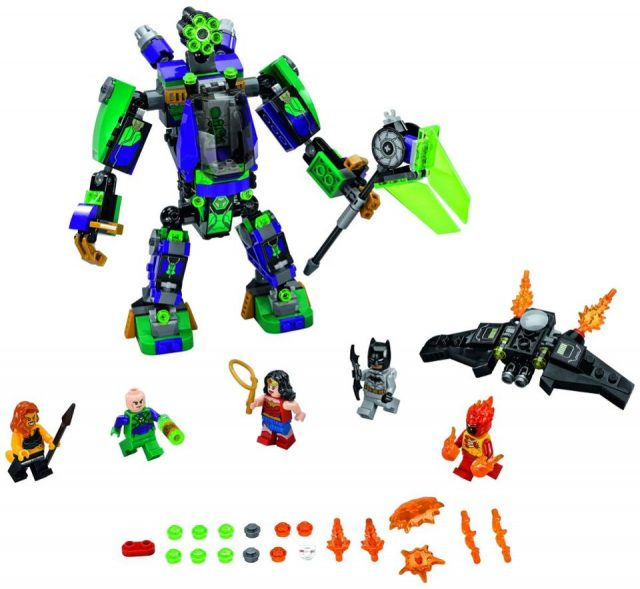 LEGO 76097 Lex Luther Mech Takedown