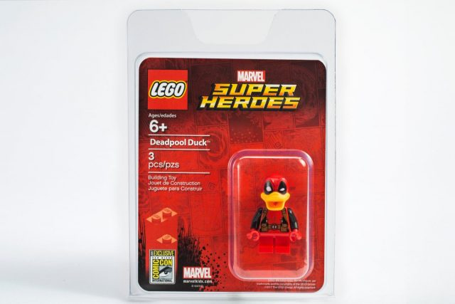 Minifig exclusive LEGO SDCC 2017 Deadpool Duck