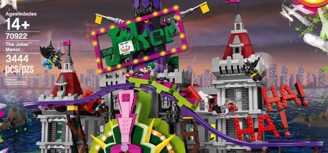 LEGO 70922 The Joker Manor The LEGO Batman Movie