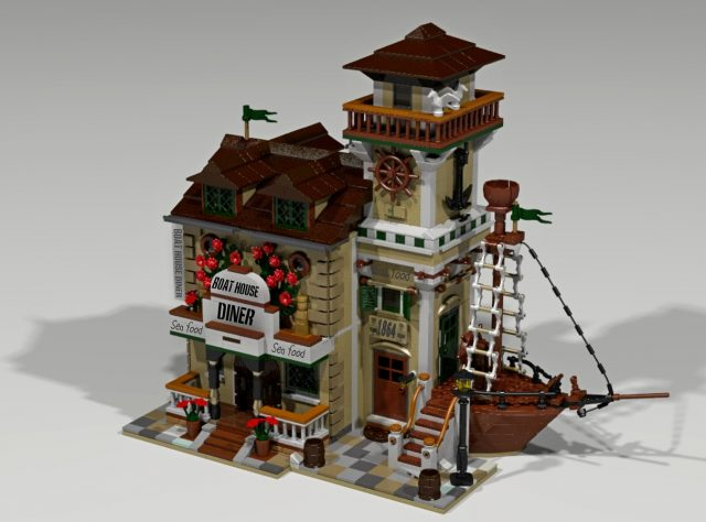 LEGO Ideas Boat House Diner