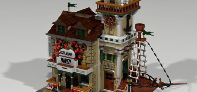 LEGO Ideas : après le Old Fishing Store, 10000 votes pour le Boat House Diner