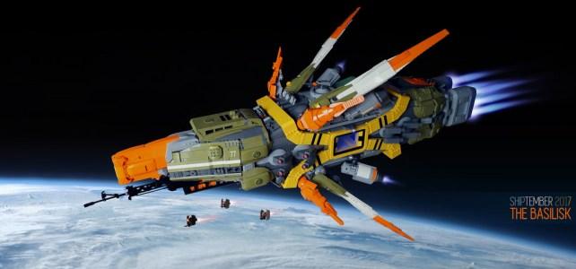 LEGO SHIPtember Basilisk Battlecruiser