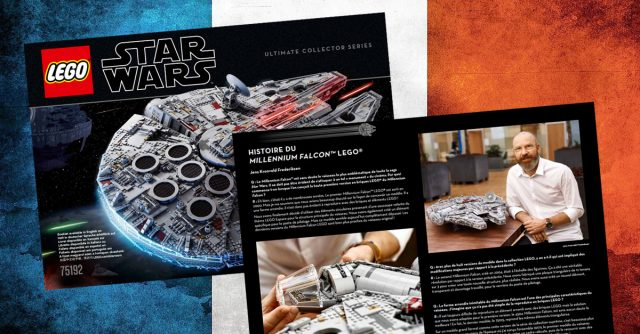 LEGO 75192 UCS Millennium Falcon instructions