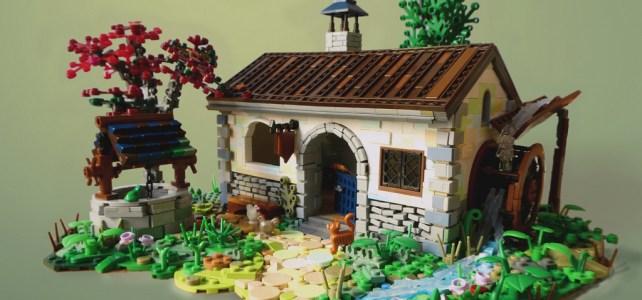 LEGO Blacksmith Forgeron