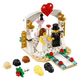 LEGO 40197 Wedding Favor Set