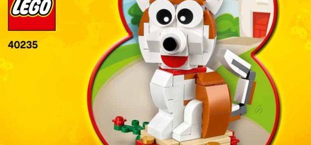 LEGO 40235 Year of the Dog