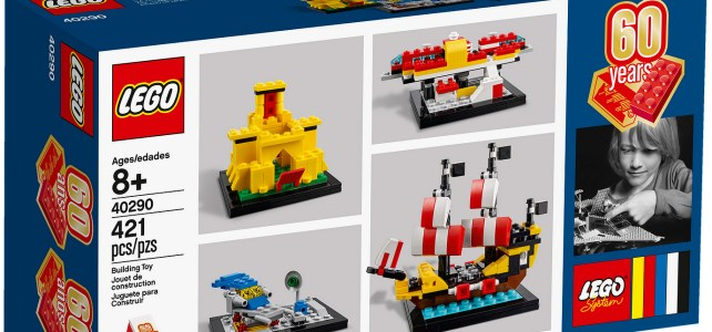 LEGO 40290 60 Years of the Brick : les visuels officiels
