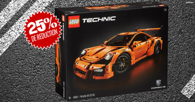 LEGO Technic 42056 Porsche promotion
