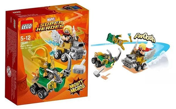 LEGO 76091 Marvel Mighty Micros Thor vs Loki