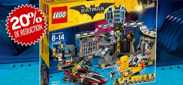 LEGO Batman Movie LEGO 70909 Batcave Break-in