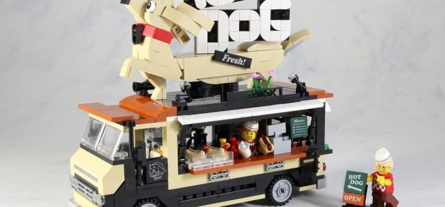 LEGO Hot Dog Food Truck