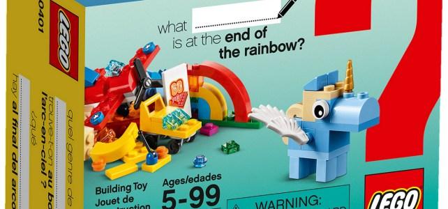 REVIEW LEGO 10401 Rainbow Fun Building Bigger Thinking