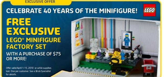 LEGO 40 ans minifig