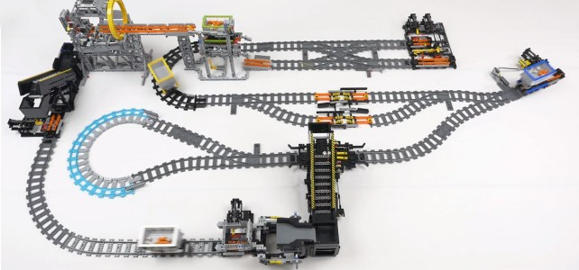 Great Ball Contraption LEGO Railway System