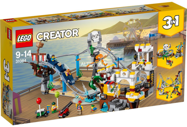 LEGO 31084 Pirates Rollercoaster box