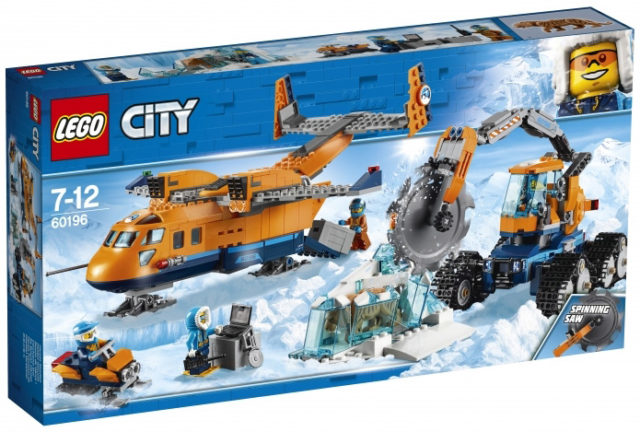 LEGO 60196 Arctic Supply Aircraft