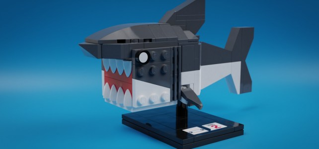 LEGO BrickHeadz requin shark
