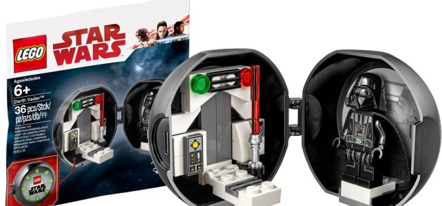 Pod LEGO 5005376 Star Wars Darth Vader : offert à partir de ce vendredi 13 avril 2018