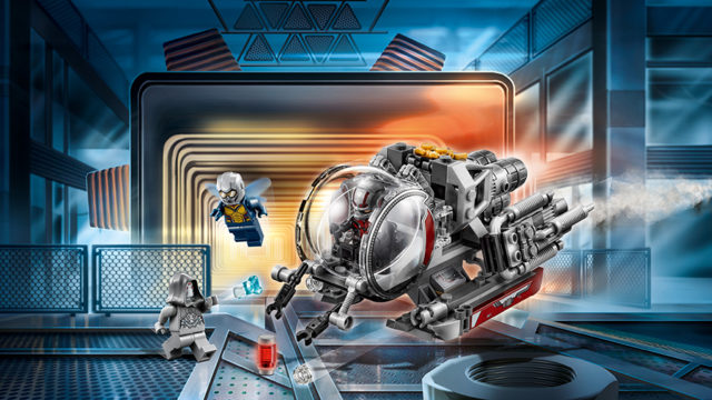 Ant-Man and The Wasp LEGO76109 Quantum Realm Explorers
