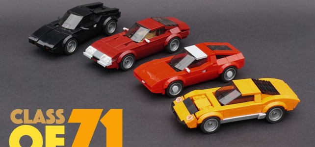 LEGO Speed Champions Class of '71