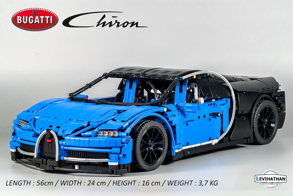 lego technic bugatti chiron hellobricks. Black Bedroom Furniture Sets. Home Design Ideas