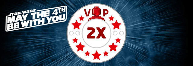 Points LEGO VIP x2 Star Wars May the 4th
