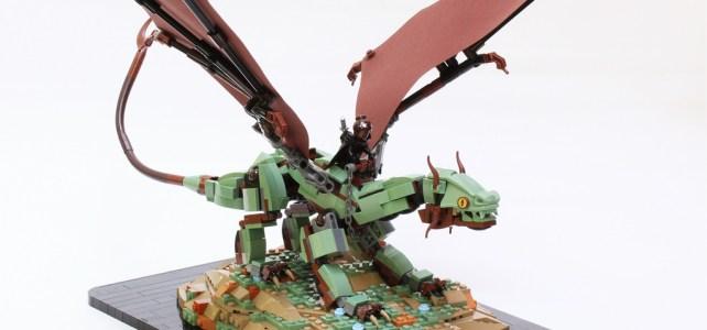 Kijani the Earth Dragon