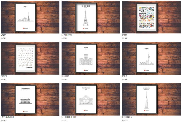 LEGO Architecture posters