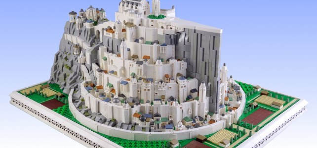 The Lord of the Rings : Minas Tirith microscale
