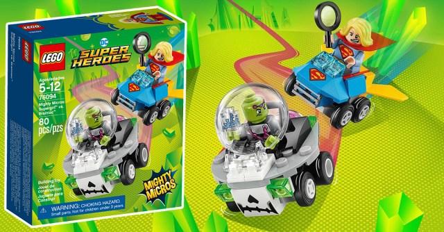 REVIEW LEGO 76094 Comics Mighty Micros Supergirl vs Brainiac