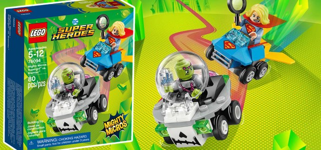 REVIEW LEGO 76094 Comics Mighty Micros Supergirl vs Brainiac
