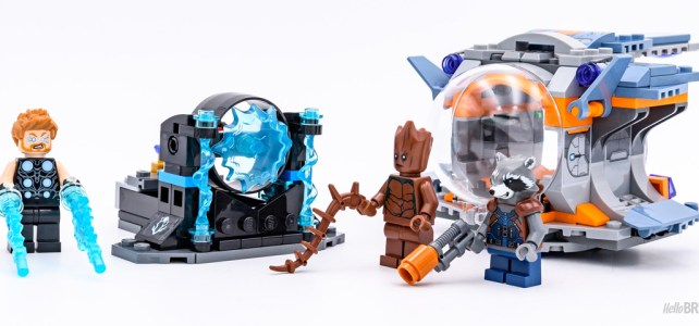 REVIEW LEGO Marvel 76102 Thor's Weapon Quest