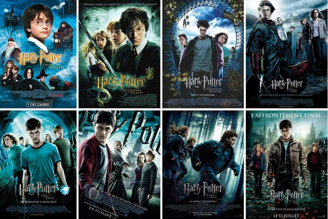 Warner Harry Potter Movies
