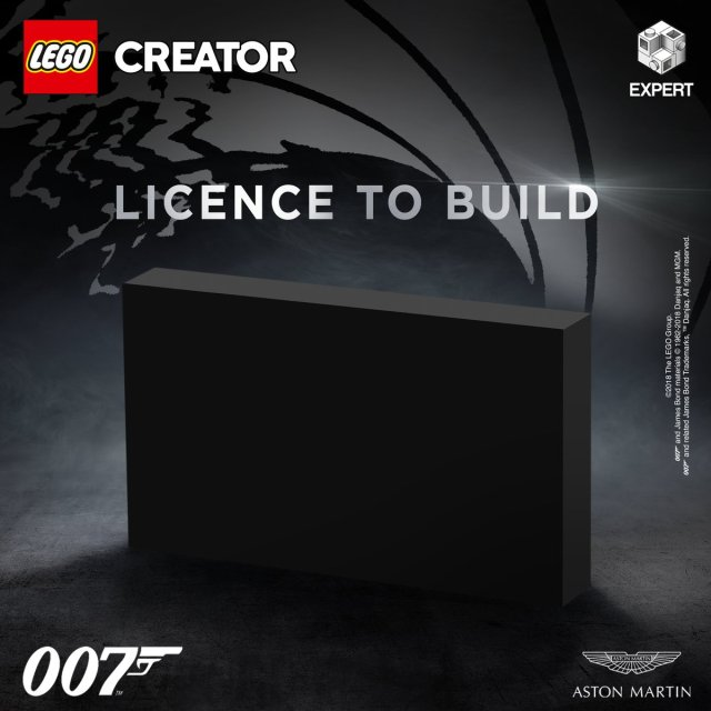 LEGO Creator Expert 10262 Aston Martin DB5