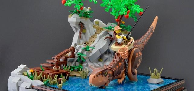 LEGO Dinosaures jolies scenes