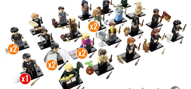 LEGO Harry Potter 71022 Collectible Minifigures : à nouveau la chasse à la minifig rare…