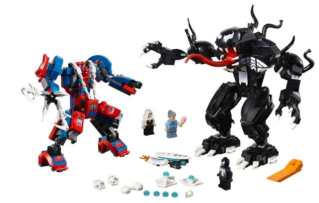 LEGO Marvel 2019 LEGO 76115 Spider-Man Mech vs Venom Mech