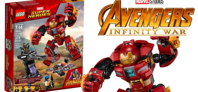 REVIEW LEGO Marvel 76104 The Hulkbuster Smash-Up