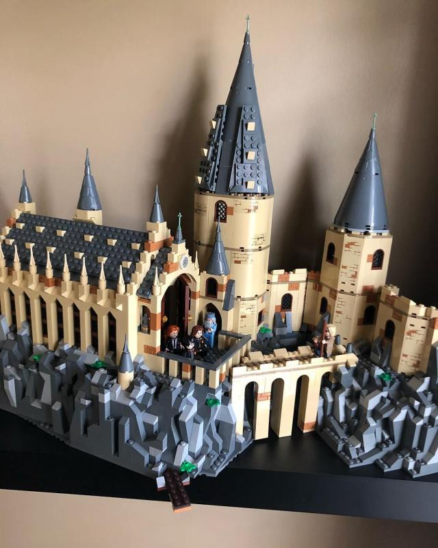 LEGO Harry Potter 75954 Hogwarts Great Hall et 75953 Hogwarts Whomping Willow