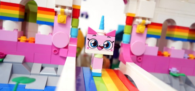 Unikitty castle, le royaume Arc-en-ciel