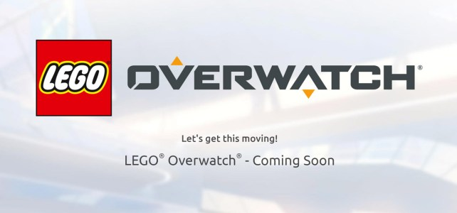 Mini-site LEGO Overwatch
