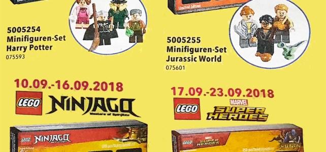 Minifigs LEGO ToysRUs Bricktober 2018